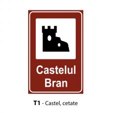 Castel — cetate — Indicator rutier