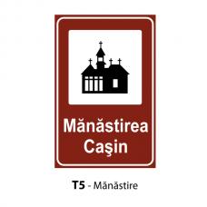 Mănăstire — Indicator rutier