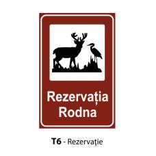 Rezervaţie naturală — Indicator rutier