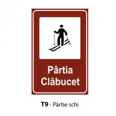 Pârtie schi — Indicator rutier