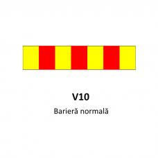 Barieră normală - Indicator rutier