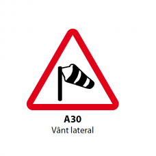 Vânt lateral — Indicator rutier