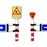 Barieră direcționale pentru semnalizare lucrări
