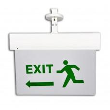 Lampă de siguranţă LED (EXIT stânga)