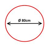 Oglindă de supraveghere 360°, diametru 80cm ***