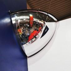 Oglindă de supraveghere 90° (H) - 80cm