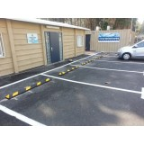 Opritor din cauciuc pentru maşini destinat protecţiei parcării — 180 cm