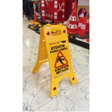 Indicator podea umedă (Limba română şi engleză)