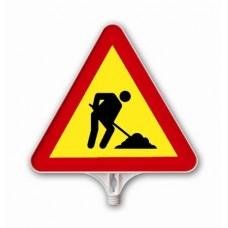 Lucrări — Indicator rutier din plastic