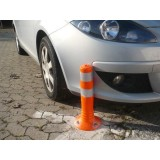 Stâlpi din cauciuc pentru parcare