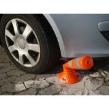 Stâlp galben flexibil pentru parcare (75 cm)