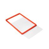 Panou din plastic, dimensiune A4 pentru stâlpi cu bandă retractabilă, 3 modele de culoare