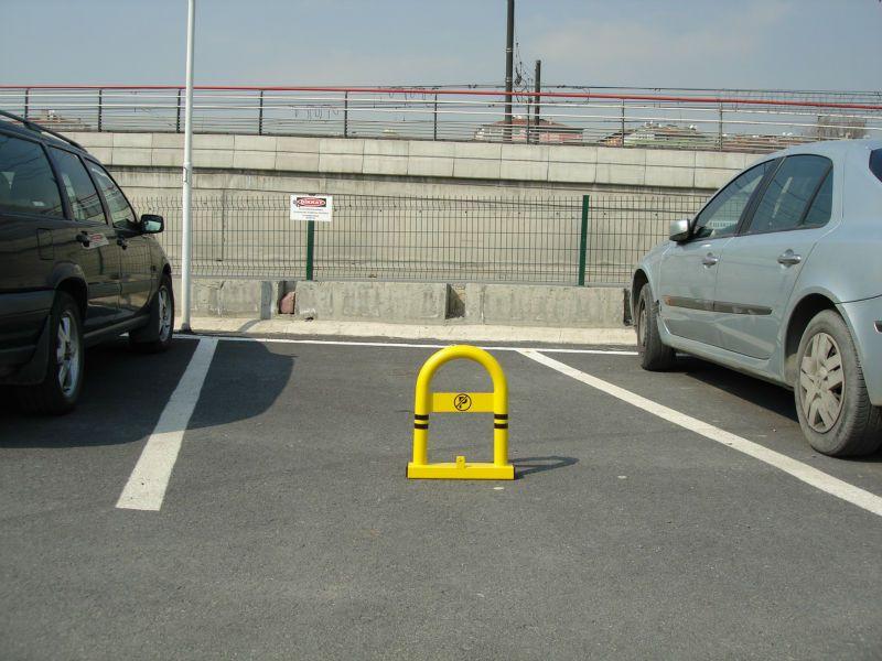 Blocator parcare
