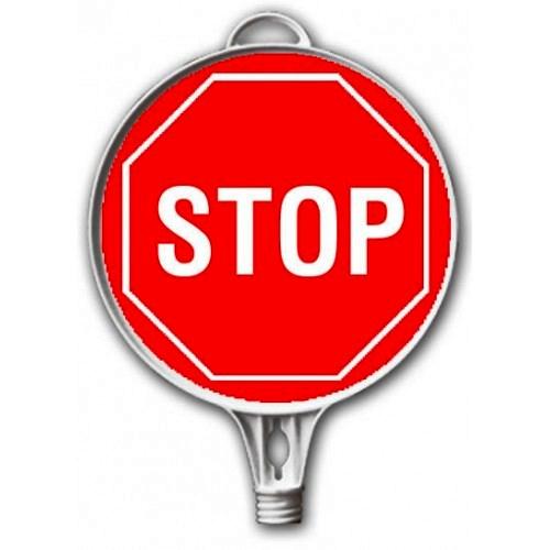 semne din plastic - stop